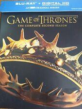 Game of Thrones: Season 2  (Blu-ray Disc, 2014, 5-Disc Set)