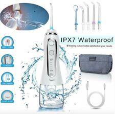 300ML Cordless Water Flosser Jet Travel Home Dental Oral Irrigator Pick 5 Speed
