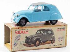 1/43 ème  NOREV originale 2cv CITROEN bleue / jouet ancien
