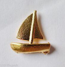 Yacht Doré Badge Broche Dernier Quelques
