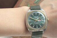 Vintage Poljot 23 Jewels Wrist Watch Automatic USSR Soviet Dress Watch Retro