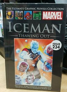 Marvel Comics Ultimate Graphic Novel Collection #234 Iceman Thawing Out