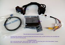Mercedes-Benz, Add Backup, Front Camera to Factory Screen, C, E, M, GL, GLA, +