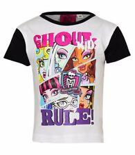 T-shirts, hauts et chemises blanches à manches courtes pour fille de 2 à 16 ans