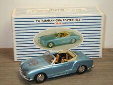 VW Volkswagen Karmann Ghia Convertible 1968 - Dinky DY DDS-3 1:43 in Box *37600