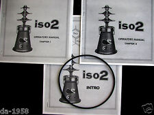 Thai Power Iso2 Oil Extractor Manuals & Intro Book with replacement Iso 2 O-Ring