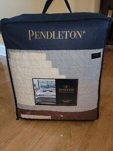 Pendleton Diamond Ridge King Quilt Set In Multi With 2 King Shams!