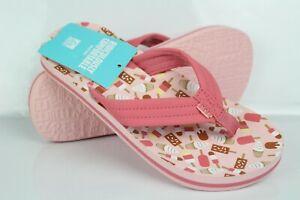 Reef Girls AHI Flip Flop Thong Sandals Ice Cream Truck