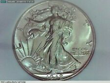 1942 U.S. Walking Liberty Half Dollar(50 cent) coin MS 65 NGC