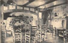 Old English Taproom Interior SANTA MARIA INN California Vintage Postcard c1940s