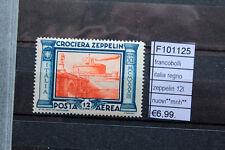 FRANCOBOLLI ITALIA REGNO ZEPPELIN 12L  NUOVI**  (F101125)
