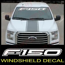 FORD F-150 Windshield Window Vinyl Decal Sticker Outline Vehicle Logo WHITE 40""
