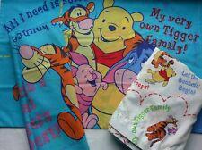 Disney Winnie the Pooh & Friends Full Flat Sheet 2 Pillow Cases Bouncin Tigger