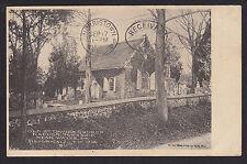 Radnor Township-Wayne-Pa-Old St. David's Church-Rock Wall-Antique Postcard