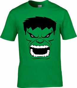 The Hulk Superhero Comic Mens T-shirt