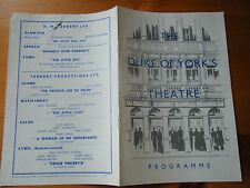 Programme- first night of The Moon is Blue at The Duke of York's Theatre 7/ 7/53
