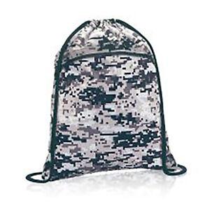 Thirty-One Cinch Sac backpack Digital Camo