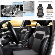 2Pcs Car Front Seat Covers Universal SUV Auto Van Sun Dust Protector Polyester