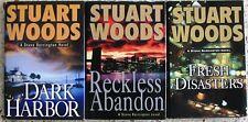 # 1 - 18 STUART WOODS HARDBACK MYSTERY BOOKS NO DOUBLES FREE SHIPPING