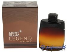 Legend Night  By Mont Blanc 3.3/3.4oz. Edp Spray For Men New In Box