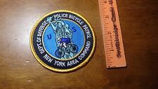DEPARTMENT OF DEFENSE POLICE  BICYCLE PATROL NEW YORK  CITY  PATCH BX 11#34