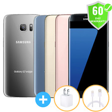 NEW Samsung G935A Galaxy S7 Edge AT&T + UNLOCKED 32GB BLACK GOLD SILVER BLUE
