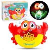 Bubble Machine Automatic Maker Blower Kids Toy Toys Boys & Girls + Music Light!