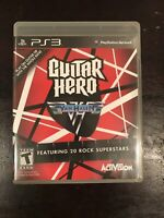 Guitar Hero: Van Halen for PlayStation 3 PS3 Complete FAST SHIPPING