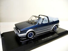 VW Golf 1 Convertible Cabriolet Bel Air blue NOREV 1:18 FREE SHIPPING