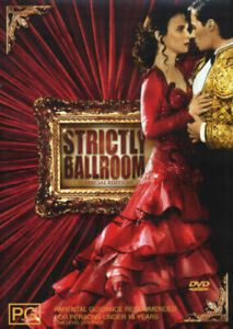 Strictly Ballroom DVD Australian Movie - Paul Mercurio REG 4 AUST