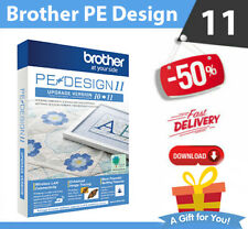 Brother PE Design 11 Software Embroidery ⭐+ 220 000 Designs ⭐ INSTANT DELIVREY⭐