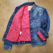 Levi's Lined Trucker Jacket Men's Size Small