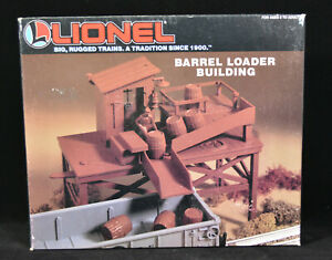 Lionel 6-12706 Barrel Loader Building O Scale