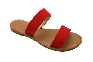 Women New Sandals Shoes Gladiator Thong Flops Slip On Flip Flat open Toe