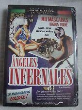 Lucha libre wrestling MIL MASCARAS REGINA TORNE ANGELES INFERNALES DVD new SANTO