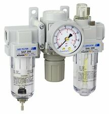 Pneumaticplus Air Filter Regulator Lubricator Combo 14 Npt250 Psi Sau200 N02g