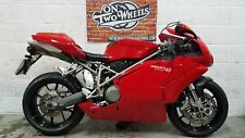 2004 DUCATI 749 BIPOSTO LOW MILEAGE FSH  **ABSOLUTELY STUNNING BIKE! MUST SEE!**
