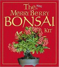 The Mini Merry Berry Bonsai Kit - New Sealed  - Paperback