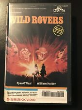 Wild Rovers Ex-Rental Vintage Big Box VHS Tape English with dutch subs