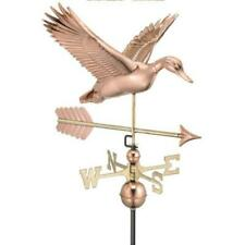 Good Directions Copper Flying Duck with Arrow Weathervane - 9613Pa W/Roof Mount