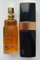 CHANEL NO 5 EAU DE TOILETTE SPRAY 100 ml 3.4 fl oz VINTAGE