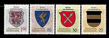Liechtenstein. Arms. 1965. Scott 396-399. MNH (BI#14)