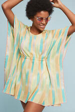 NWT Anthropologie Pastel Yarn-Dyed Tunic Coverup  By Lilka Size X-Small/Small