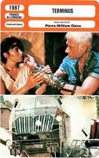 FICHE CINEMA : TERMINUS - Allen,Prochnow,Hallyday,Glenn 1987