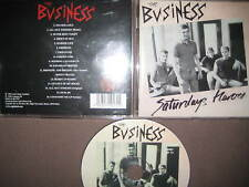 CD The Business – Saturdays Heroes Captain Oi! Punk Sham 69 4 Skins