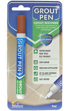 Grout Pen - Designed for Restoring Tile Grout in Bathrooms & Kitchens Terracotta