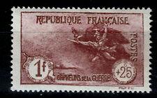 Frankreich 213 **, 1 Fr + 25 C. Kriegswaisen