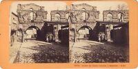 Palais Gallien Bordeaux Stereo Jean Andrieu Vintage Albumina Ca 1870