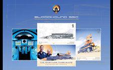 Isle of Man 2017 - BLOODHOUND SSC souvenir sheet mnh