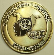 101st Airborne CJTF-101 ISAF Afghanistan CSM Army Challenge Coin